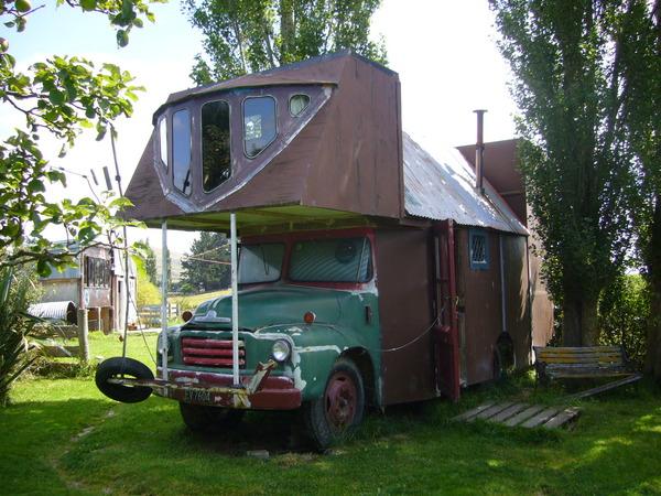 ニュージーランドのハウストラック