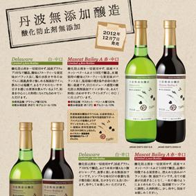 ワインのフライヤーデザイン